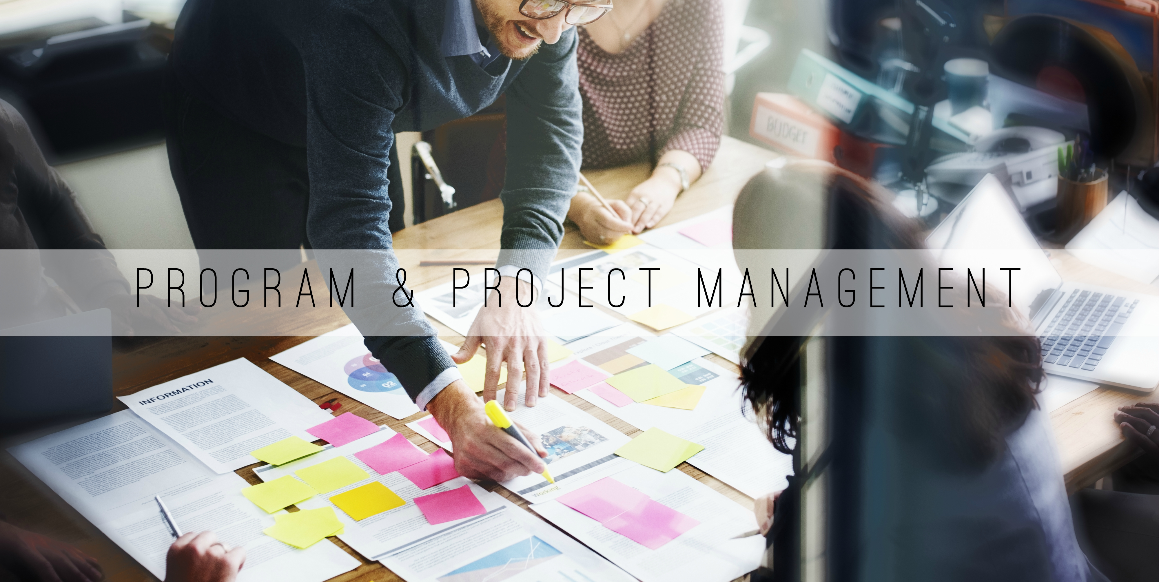 Ppt consulting providing people process technology solutions explore our service offerings program and project management xflitez Images